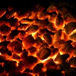 dying coals